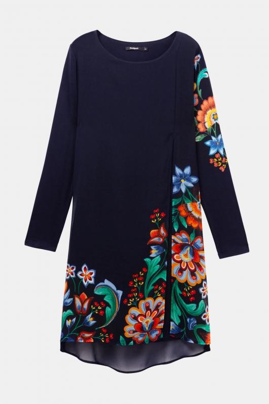 rochie-cu-print-floral-desigual-business-cocktail
