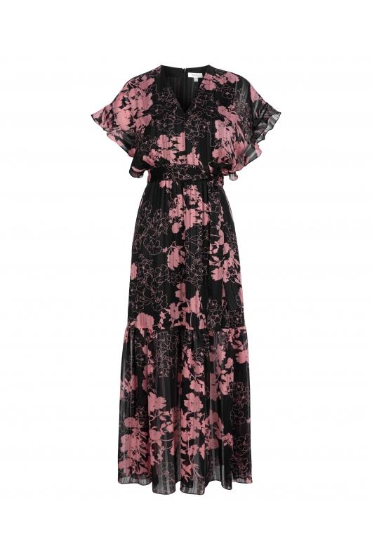 rochie-lunga-dama-cu-print-floral