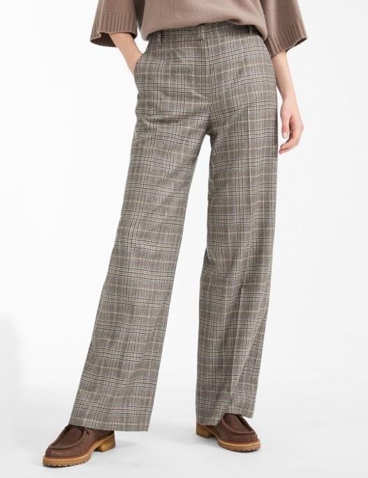 Pantaloni eleganti in patratele Max Mara