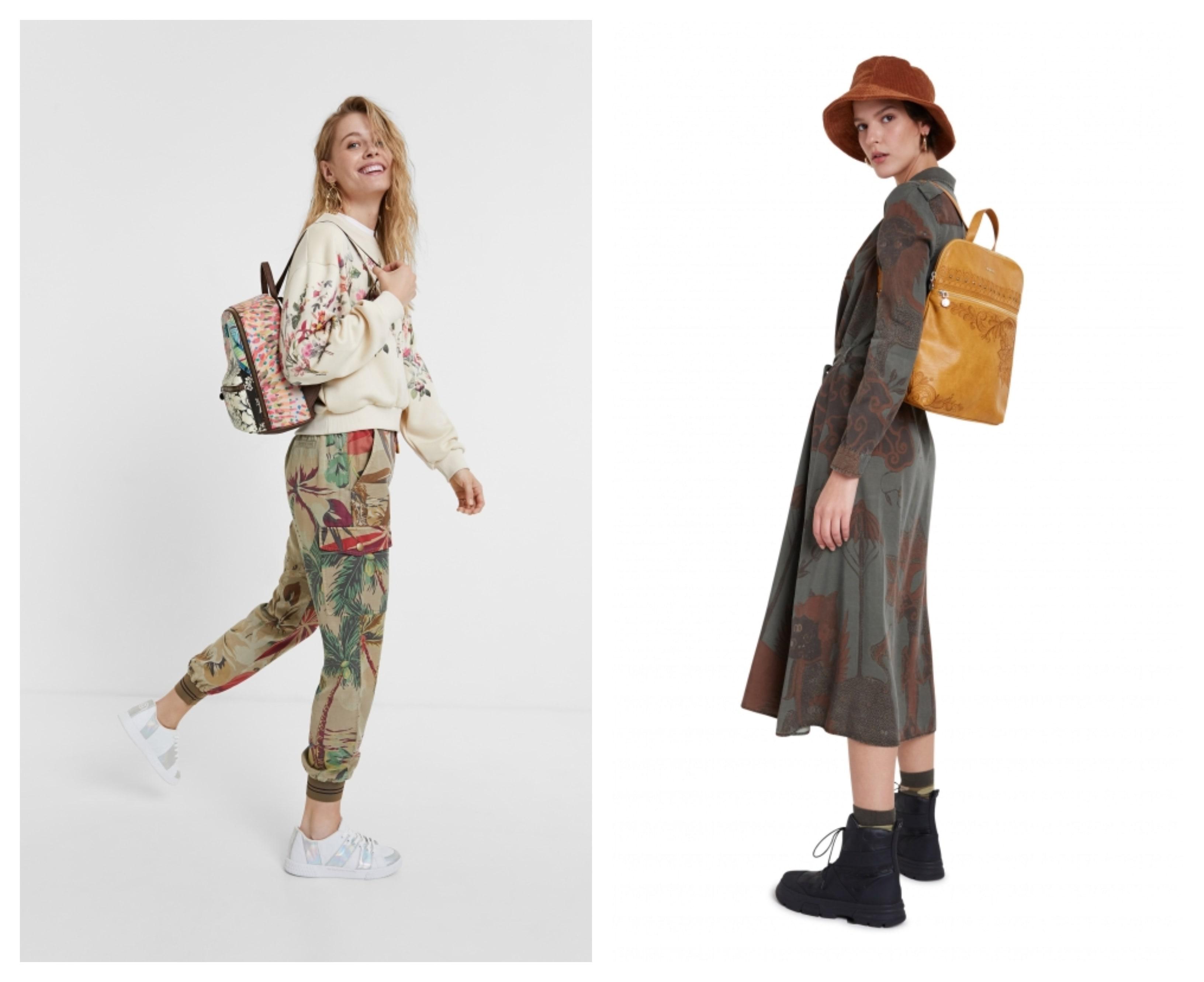 Alege-ți modelul preferat de rucsac din colecția Desigual!