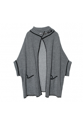 Poncho LATERAL Grey