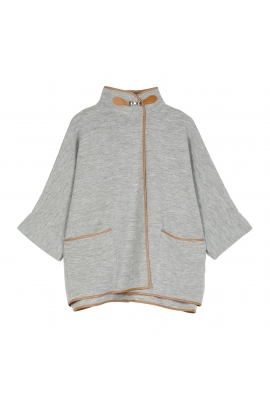 Poncho LATERAL Gri