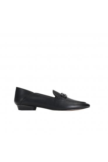 Pantofi Mocasini negri Chain
