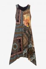 Rochie lunga in colturi