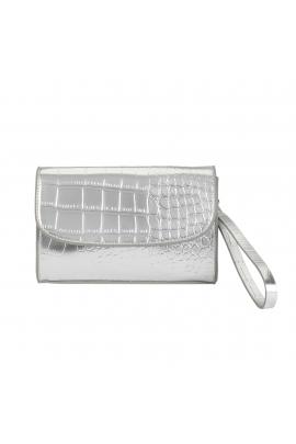 Crossbody Bag RACHEL Silver M