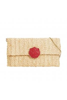 Envelope Bag ORIENT Ecru M