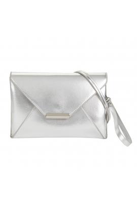 Envelope Bag POSE Silver M