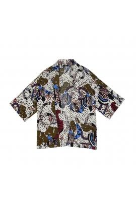 Kimono SELVA PRINT Ecru U