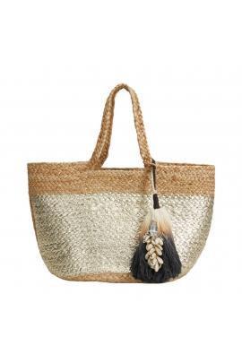 Shopper Bag Beach Bag  Ecru M