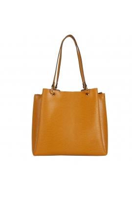 Shopper Bag MARGARET Mustard L