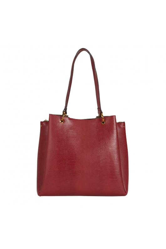 Shopper Bag MARGARET Red L