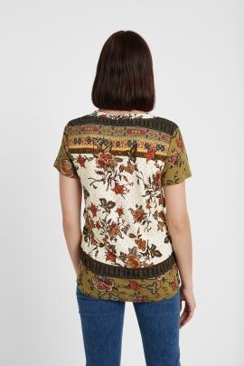 Tricou etnic floral