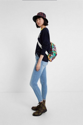 Denim Desigual bleu deschis