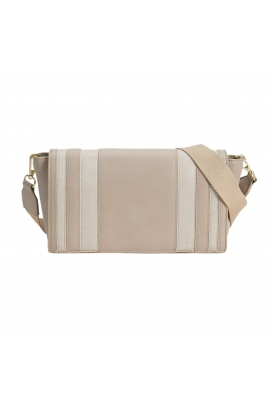 Crossbody Bag MASH Beige S