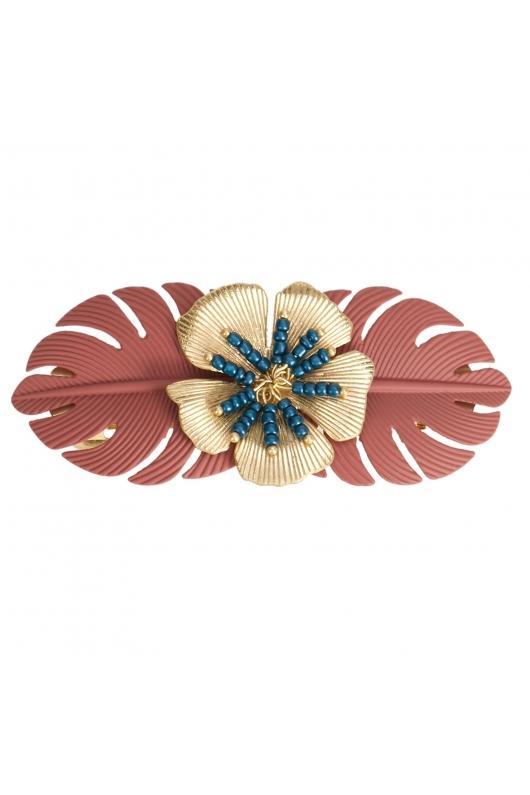 French Clip TERRACOTA Bright Multicolor U