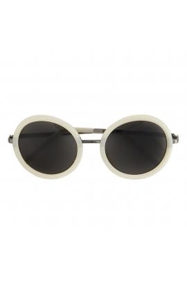 Round Sunglasses GENERAL SUNGLASSES Light Grey U