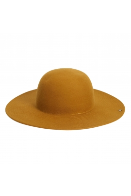 Rounded Crown Hat GENERAL HATS Mustard U