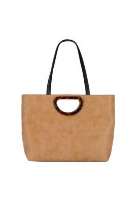 Shopper Bag HAZEL Camel M