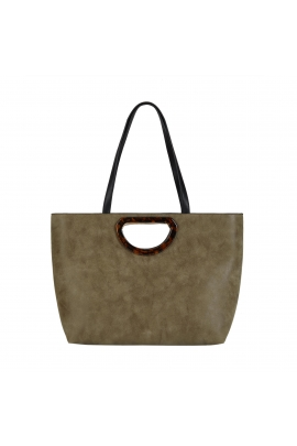 Shopper Bag HAZEL Khaki M