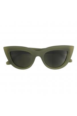 Ochelari Cat Eye verde inchis