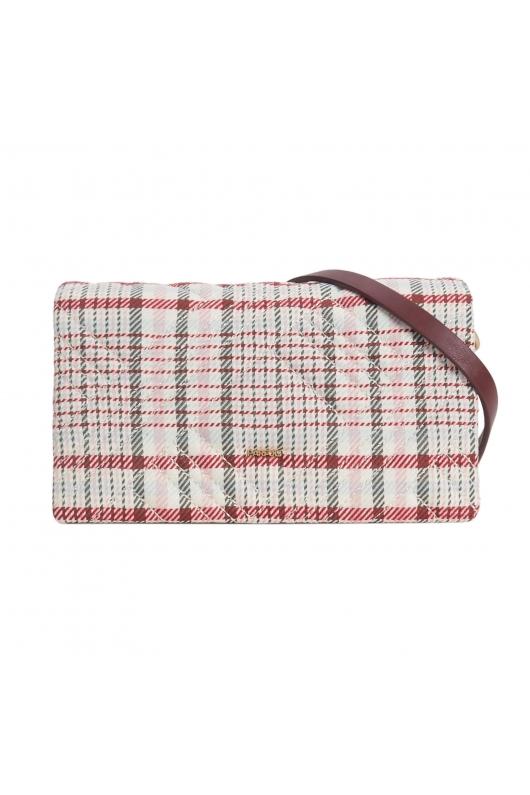 Crossbody Bag VICKY Burgundy M