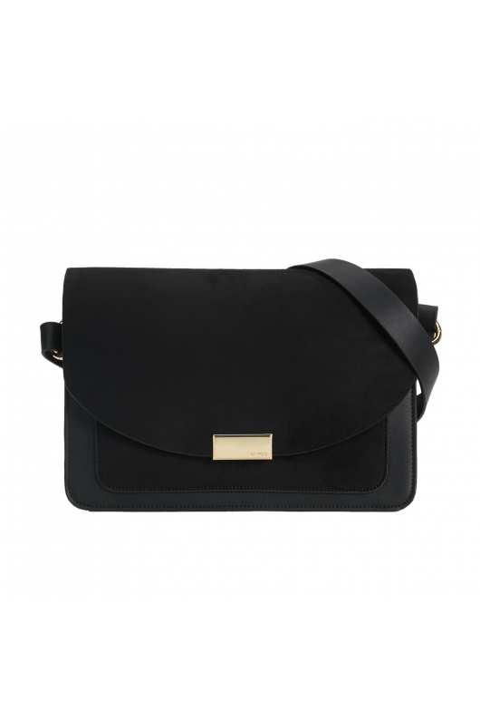 Crossbody Bag REFINED Black M