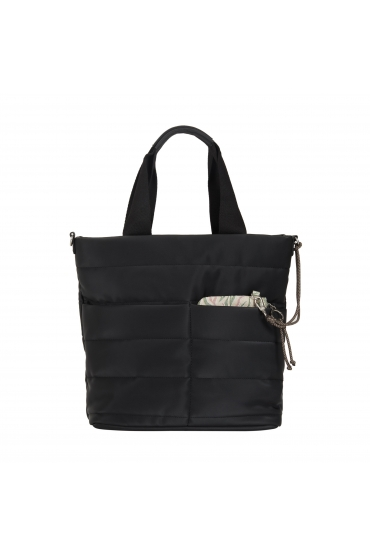 Computer Hand Bag PUFFY Black L