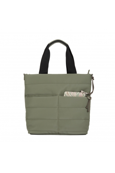 Computer Hand Bag PUFFY Khaki L