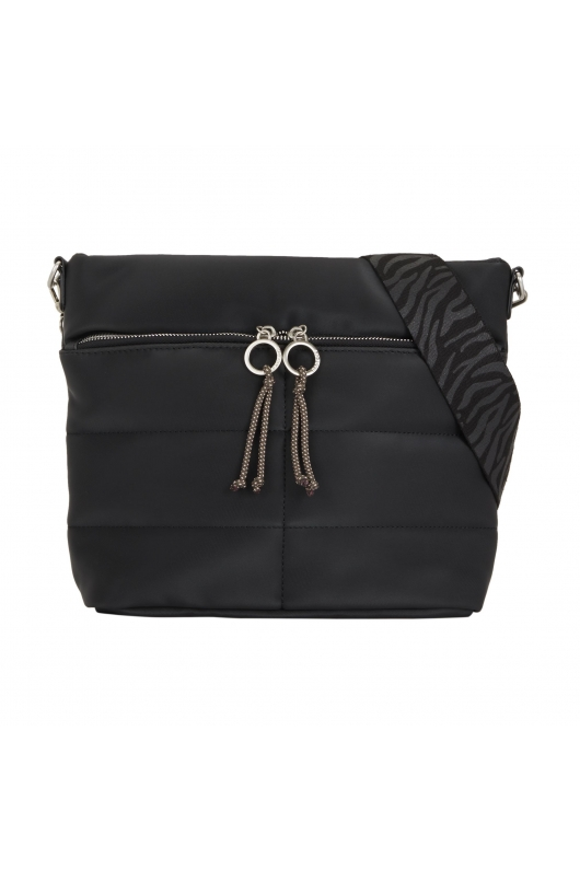 Crossbody Bag PUFFY Black S