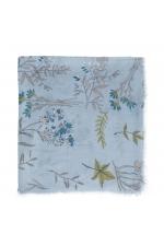 Printed Scarf MAGNOLIA Blue M