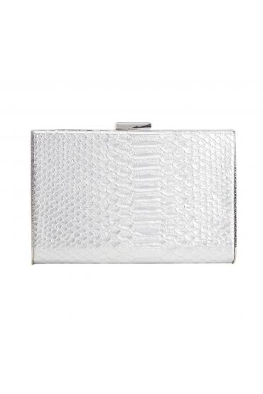 Box Bag BELLY Silver M
