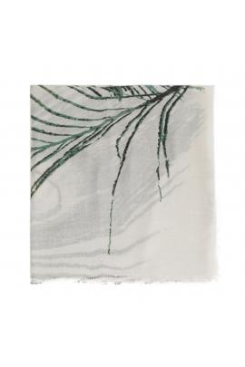 Printed Scarf FANCY PerlaS Green M