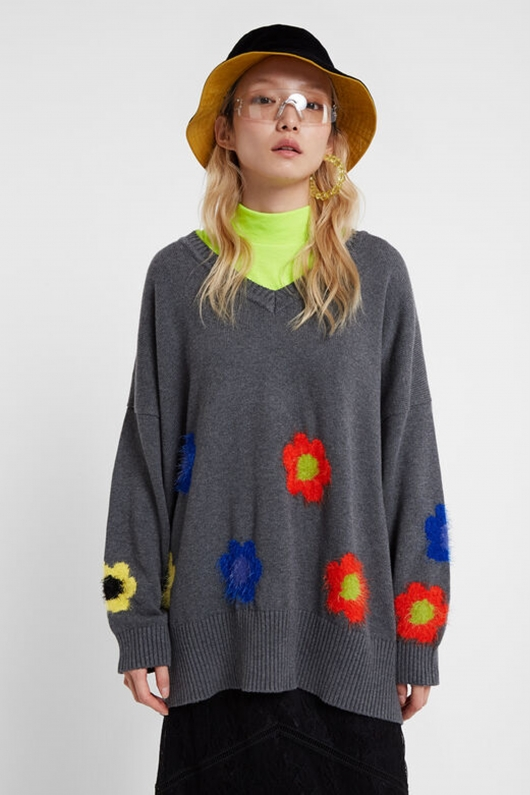 PULOVER OVERSIZED