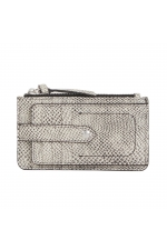 Card Holder Taupe M