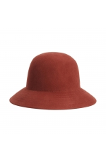 Cloche Hat GENERAL HATS Rust U