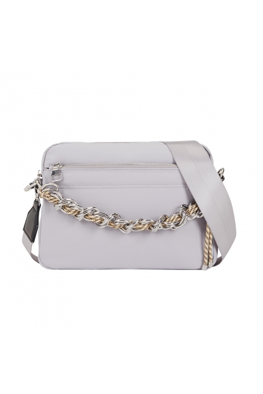Crossbody Bag MISTY 1 Light Grey M