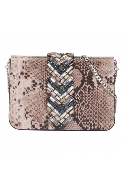 Crossbody Bag SPINE Beige M