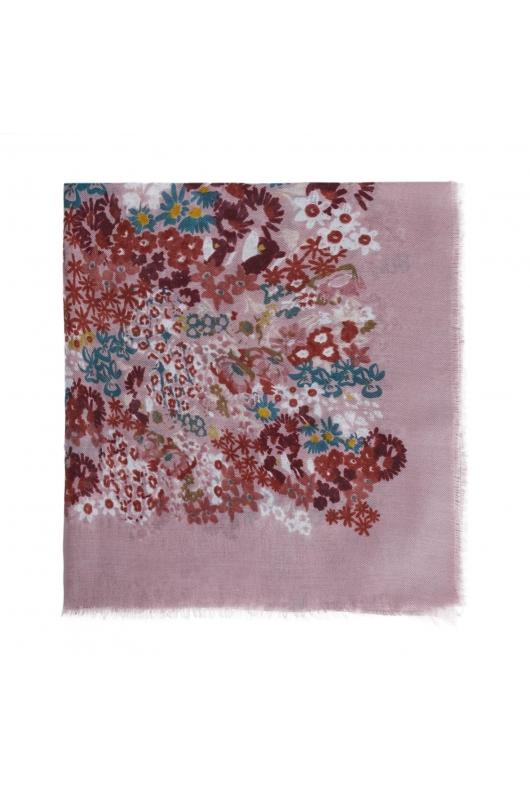 Printed Scarf GENERAL SCARVES Pink M