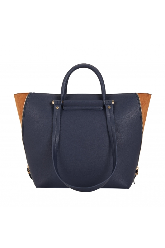 Shopper Bag COSMO Navy L