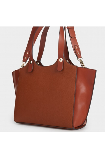 Shopper Bag SISON Camel L