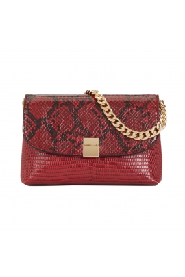 Crossbody Bag TOOTH Red M