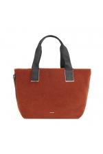 Shopper Bag CROWN 2 Brick Red M
