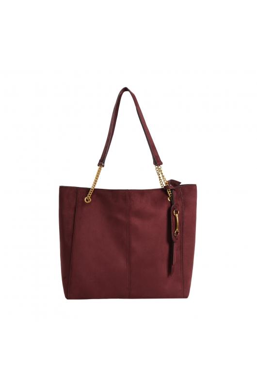 Shopper Bag Burgundy M
