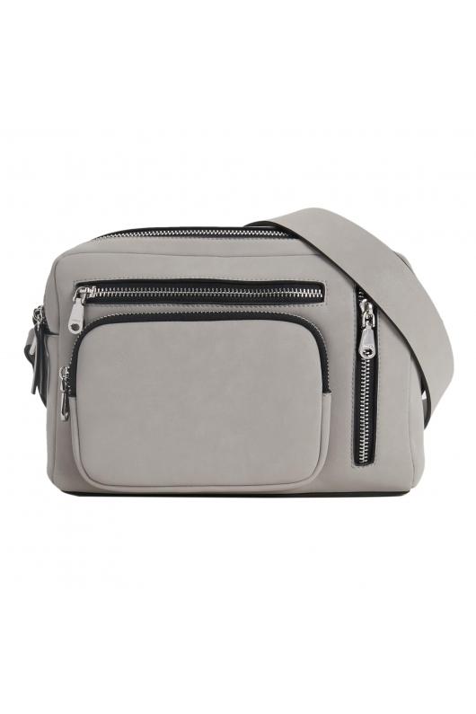Crossbody Bag Grey M