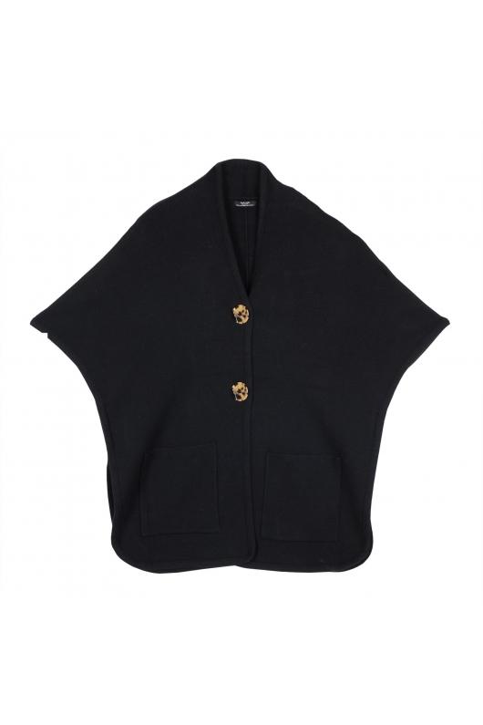 Poncho negru universal