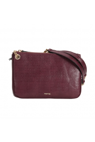 Crossbody Bag Burgundy M
