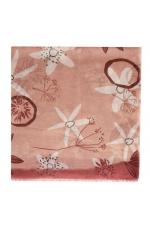 Printed Scarf Pink M