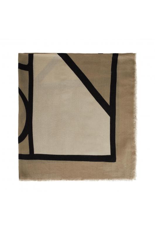 Blanket Scarves Wild Lime Grey M