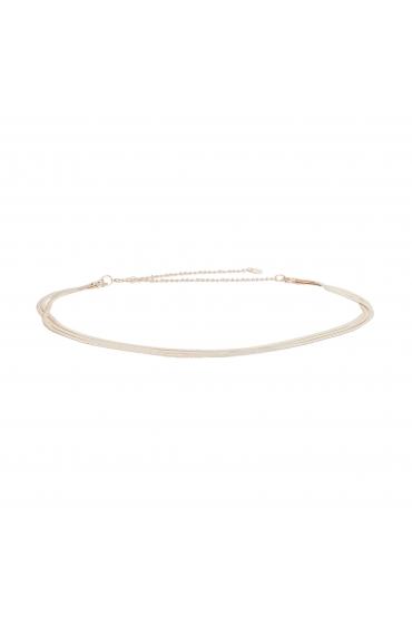 Chain Belt Rose Gold U