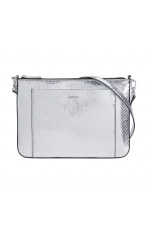 Crossbody Bag Silver M